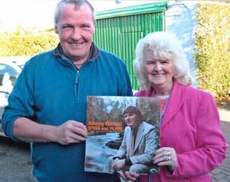 mary malone  and jim pitman with the lost album