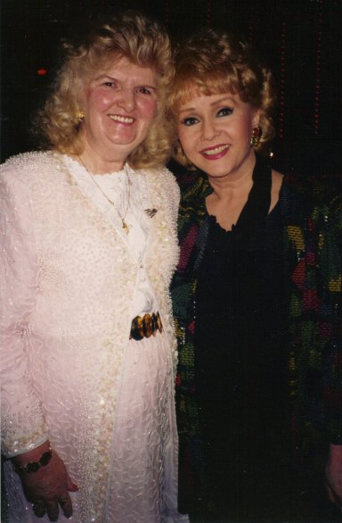 debbie reynolds with Mary Malone