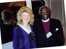desmond tutu and mary malone