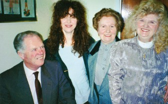 gerry ryan and family with mary malone