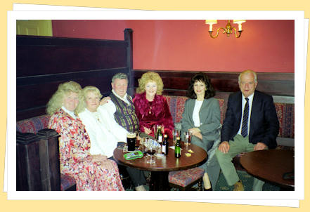 johnny barrett and friends in Trallee, county kerry